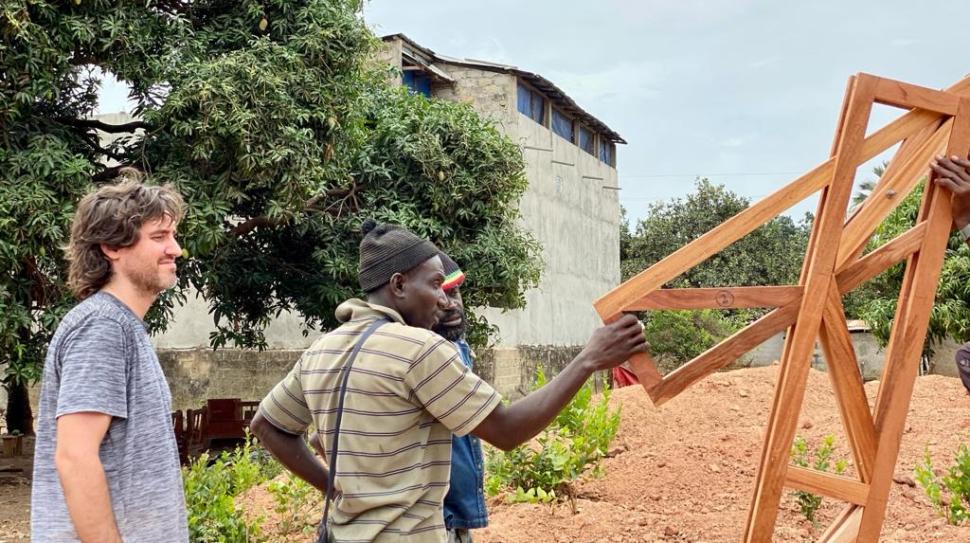 workshop estructuras desplegables guillermo santoma sambun festival foundawtion