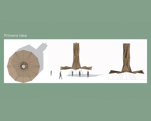 Torre agua-1ª idea